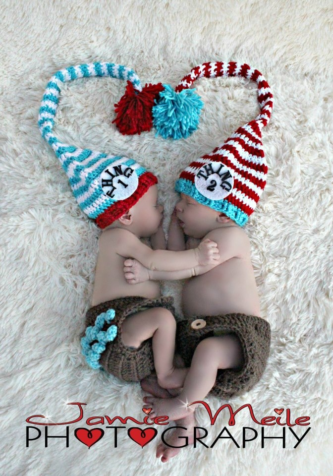 this it to cute!(: love thing one and thing two, @ Nikki I would love these for Lexi  and the new little one!