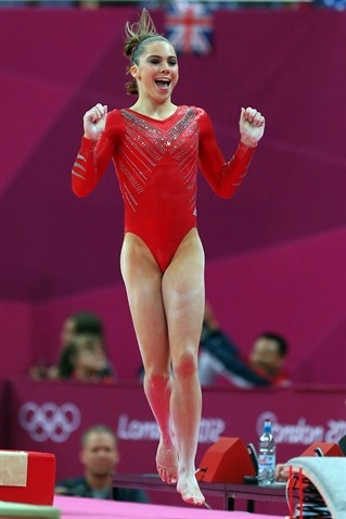 McKayla Maroney after her near perfect vault at Team Finals | NBC Olympics