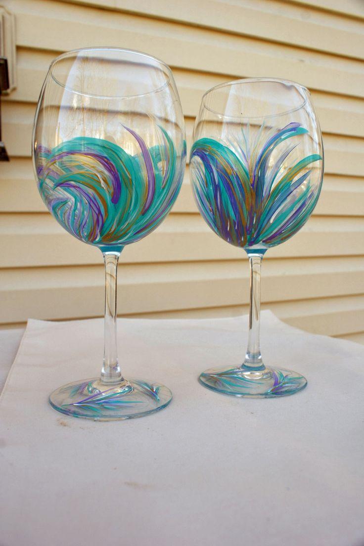 1000 Ideas About Unique Wine Glasses On Pinterest Wine