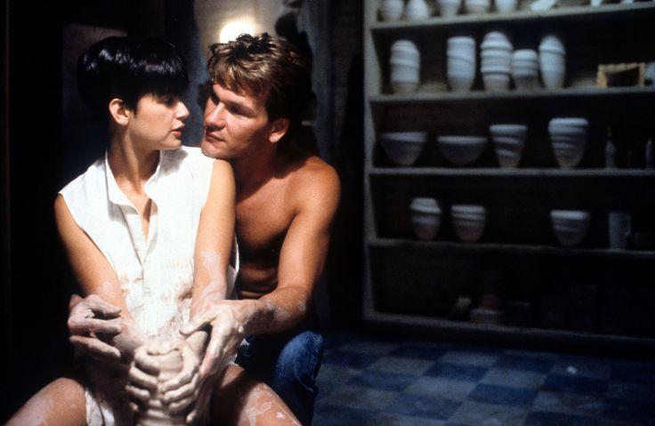 "Demi Moore et P.Swayze - ""Ghost"" 1990"