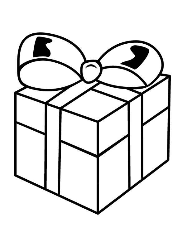 Картинки подарочные коробки раскраска, печатать