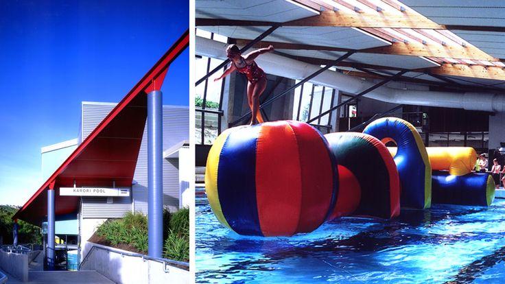 KARORI POOL, Wellington New Zealand.  Designed by Architecture HDT.  http://architecturehdt.co.nz/pools/