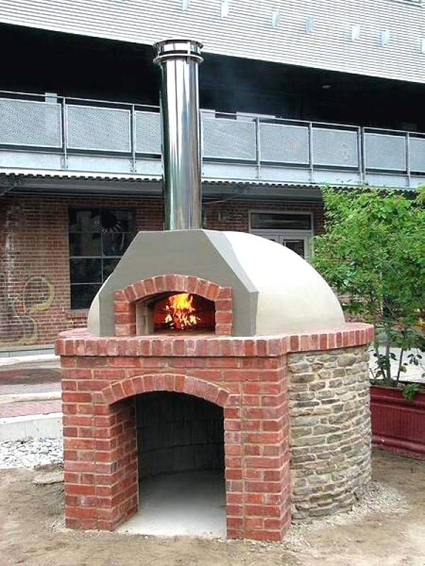 Well Ideas Fireplace Pizza Oven Combo Somine Evler Koy Evi
