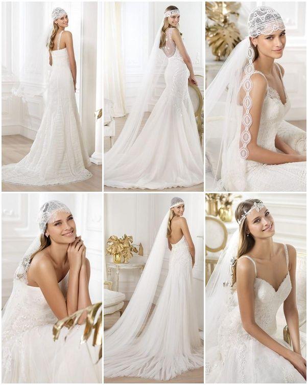Mejores 30 imágenes de velos novia velo en Pinterest   Vestidos de ...