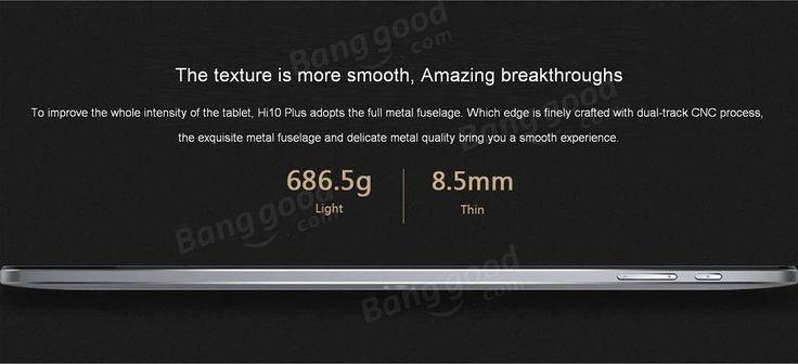 Chuwi Hi10 Plus 64GB Intel Cherry Trail X5 Z8350 Quad Core 10.8 Inch Dual OS Tablet