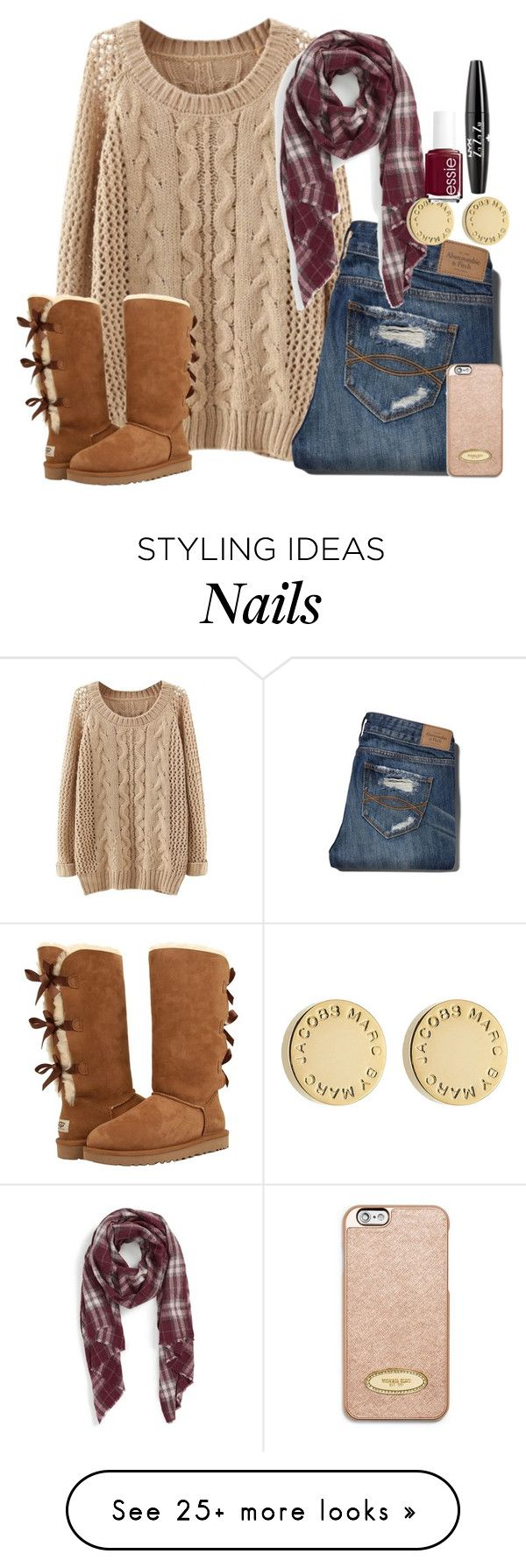 """James 4:7 ""Submit yourselves therefore to God. Resist the devil, and he will flee from you."""" by shannaolo on Polyvore featuring Abercrombie & Fitch, Sole Society, Marc by Marc Jacobs, Essie, NYX, UGG Australia and MICHAEL Michael Kors"