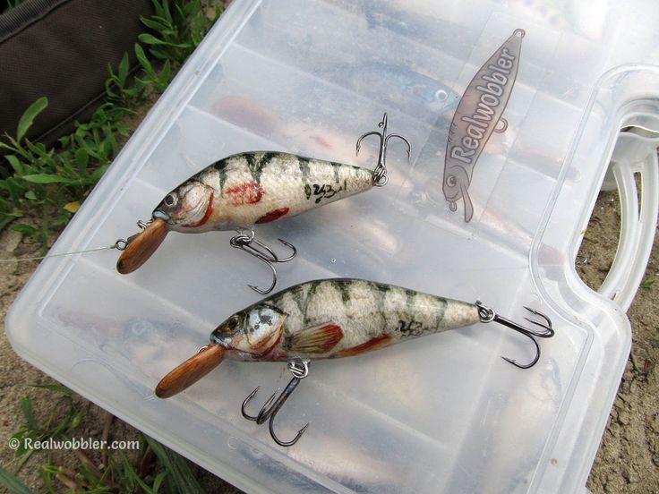 1 Two new custom lures Fat S with perch skin for the fishing of catfish, pike, bass, asp and other predatory fish.  http://www.realwobbler.com/en/38-fat-lures-s-size  2. Zwei neue handgemachte Wobbler Dick S mit Barsch-Fischhaut.   #fishing #angling #lures #crankbaits #skinlure #swimbaits #customlures #woodenlures #handmadelures #angeln #spinnfischen #wobbler #kunstköder #pesca #señuelos #рибалка #воблер #риболов #спиннинг    