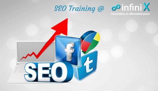 Infinix is the best providers of SEO Training in Chennai with SEO Experts. The trainers of Infinix are all around experienced and restricting the batch members to give better knowledge. Numerous magnificent sites are produced by spending lot of money but keeping as pointless, which was not look via web crawlers, comes about like Google, Yahoo. If you want your site to be in top most positioning of search engine then you should be master in SEO. http://www.infinix.in/seo-training-in-chennai/