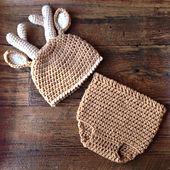 Crochet Pattern For Baby Deer Hat : 17 Best ideas about Diaper Cover Pattern on Pinterest ...