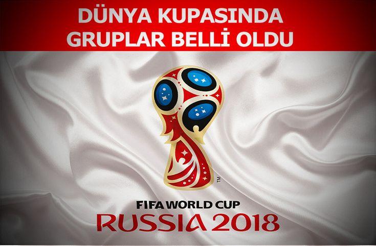 Rusya 2018 Dünya Kupası grupları belli oldu - Rusya'da düzenlenecek olan 2018 Dünya Kupasında mücadele edecek takımların belli olmasının ardından bugün yapılan kura çekimi ile gruplarda belirlendi.  Dünya Kupası 2018 ne zaman başlıyor?  21. kez düzenlenen Dünya Kupası, 14 Haziran-15 Temmuz 2018 tarihleri arasında Rusya'da oynanacak. İşte  - http://bit.ly/2iB4GQd