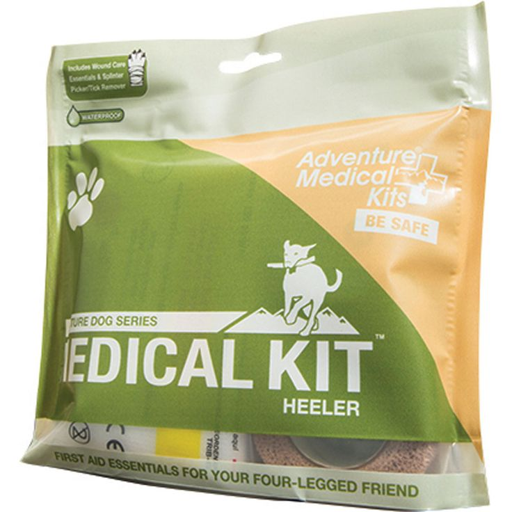Dog Heeler First Aid Kit Playing in the backyard or hiking the nearby trails…