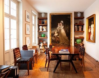 dining room wolfgang joop at home in potsdam via the selby home decor pinterest room. Black Bedroom Furniture Sets. Home Design Ideas