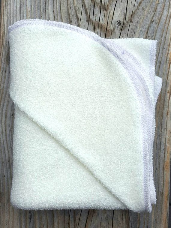 Bamboo Hooded Towel  Organic Hooded Towel  Soft Baby Towel