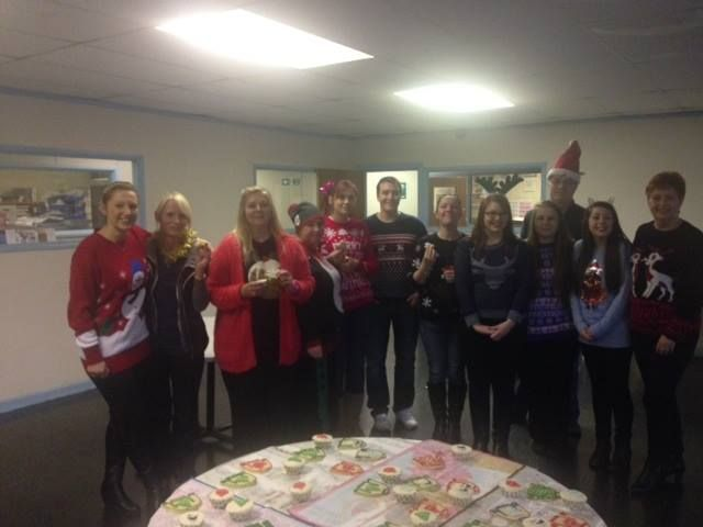 Christmas Jumper day :)!