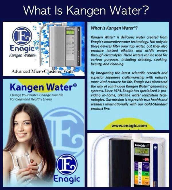 Kangen Water! www.kangenagua.com to learn more about the benefits of Kangen Water 800-958-9609