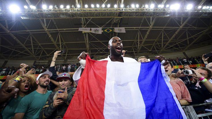 JO RIO 2016 - Exceptionnel Teddy Riner ! Le judoka français a gardé son titre…