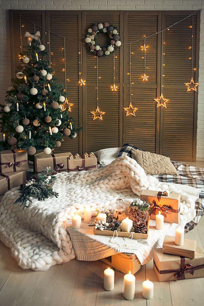 Идеи для новогодней фото дома