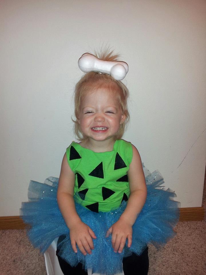 Pebbles Halloween Costume wow looks like #paisley with teeth