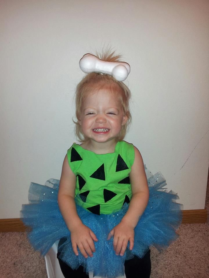 Pebbles Halloween Costume wow looks like #paisley with teeth