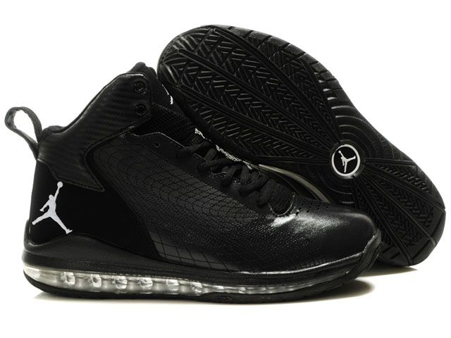Discount Authentic Mens Nike Air Max Jordan Fly 23 Shoes All Black
