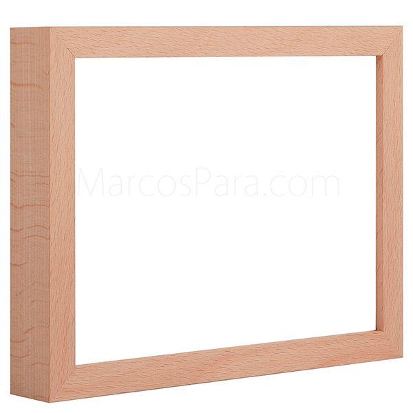 Las 25 mejores ideas sobre molduras de madera en - Marcos fotos madera ...