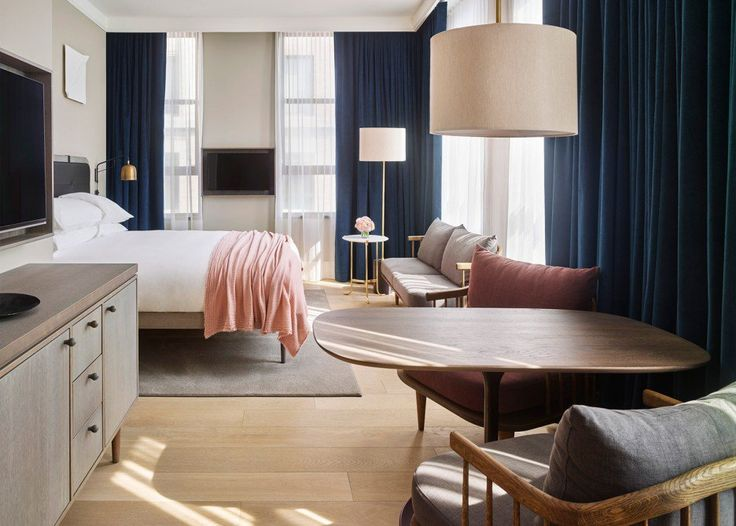 Step Inside 11 Howard Hotel in New York and Be Amazed  | www.contemporarylighting.eu | #midcenturylamp #contemporarylighting #newyork