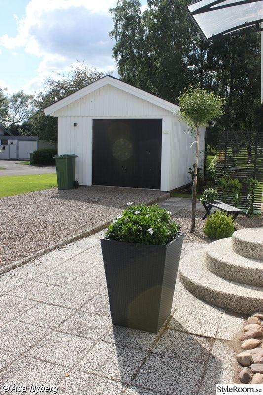 I detta albumet visar jag hur vårt hus och trädgård har blivit sen vi målade det i vitt med svarta detaljer för två år sedan. Innan var det i beige med vinröda detaljer istället....  Vårt hus fick en rejäl uppfräschning när det ändrade färg och detaljer för två år sedan.... På utealtanen står den...
