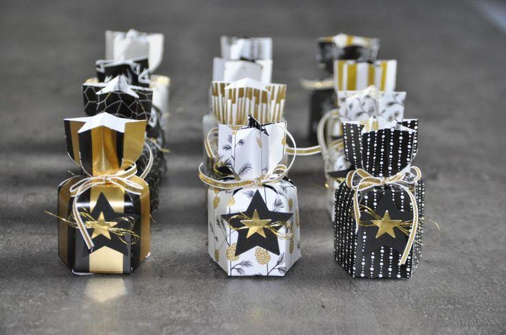 Tutoriel Insta enveloppe boîte étoile par Marie Meyer Stampin up - http://ateliers-scrapbooking.fr/
