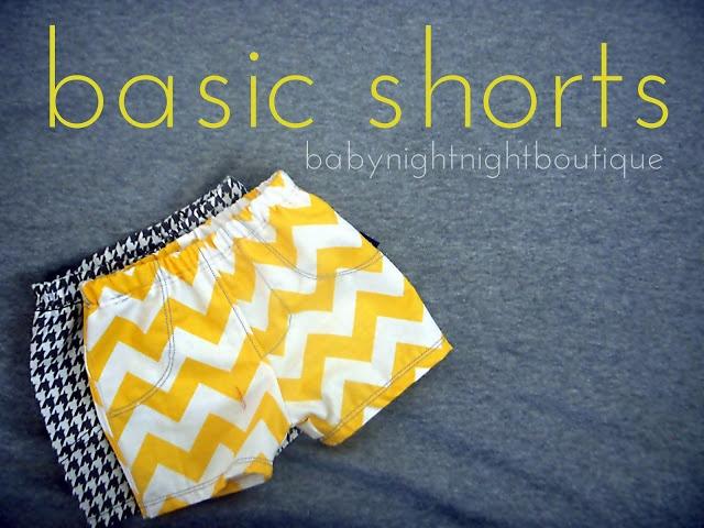 Bellapia Clothing Co.: shorts diy pattern