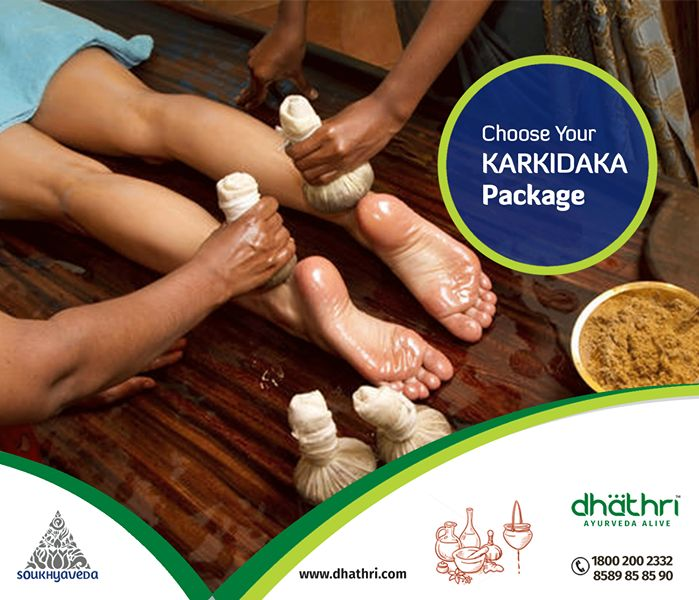 Keep your body away from toxins!! Enquire now for customized Karkidaka Packages: http://bit.ly/1Izxfx2  Body purification treatments, also called Panchakarma, are a method of body purification treatments in ayurveda that eliminate the accumulated toxins and impurities from the human body. #Dhathri #KarkidakaPackages