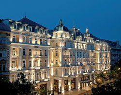 Corinthia Hotel Budapest - The inspiration for The Grand Budapest Hotel - such beautiful, luxurious place!