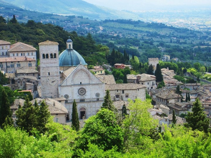 View from the top of Assisi.