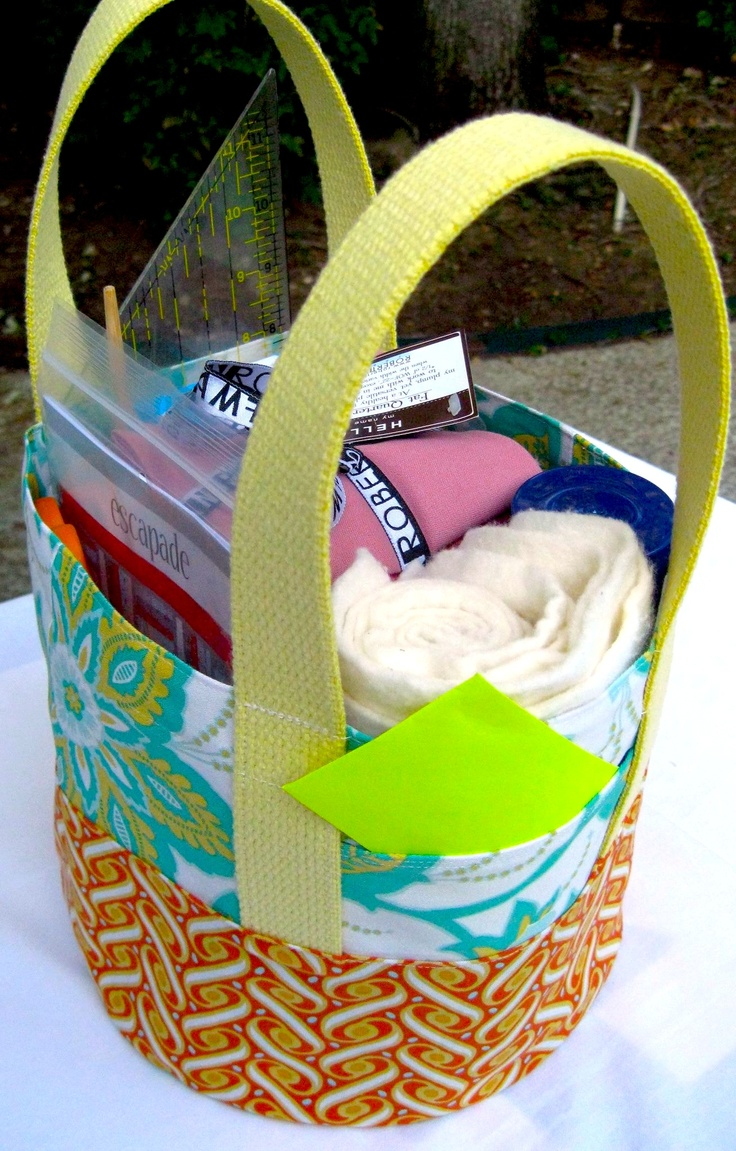 """Great idea: reusable fabric gift tote by @bgmom1 using """"Sew Fun"""" pattern"""