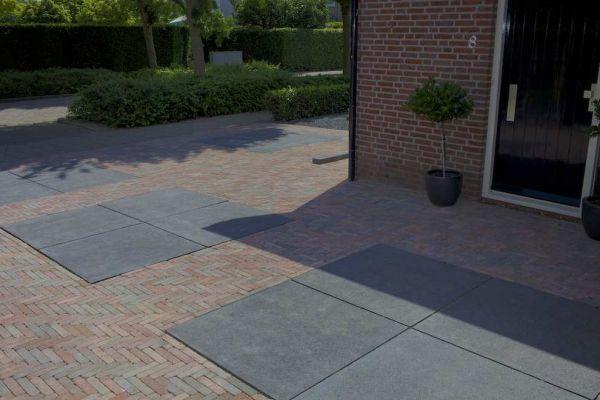 Schellevis oud hollandse tegels carbon 100x100x5 cm