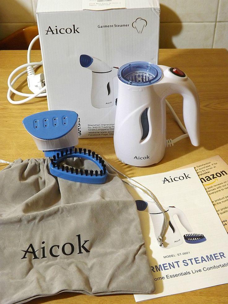 Aicok+Mini+Ferro+da+Stiro+a+Vapore+Portatile