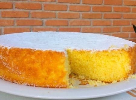 Receita de Bolo de Laranja sem Glúten e Lactose - Cyber Cook Receitas...