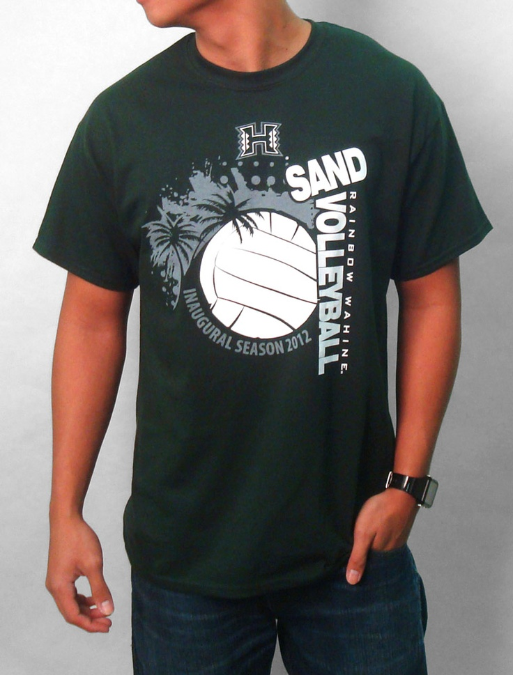 Inaugural Wahine Sand Volleyball Tshirt