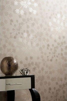Modern Wallpaper Guest Bath Wall