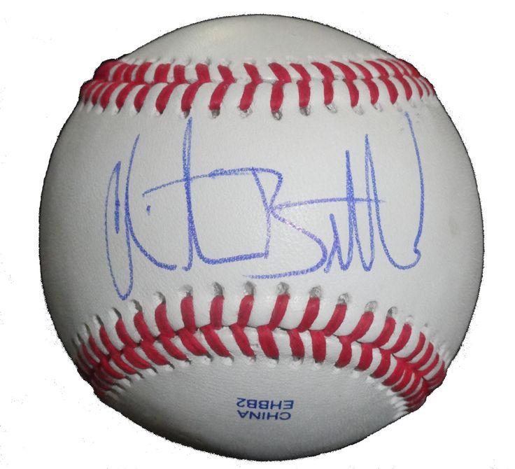 Atlanta Braves Christian Bethancourt Signed Rawlings ROLB Leather Baseball W Proof Photo