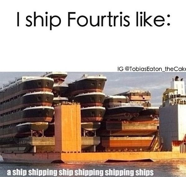 Yes, his name IS indeed Tobias. But im still going to call him Four. Why? Because Fourtris.