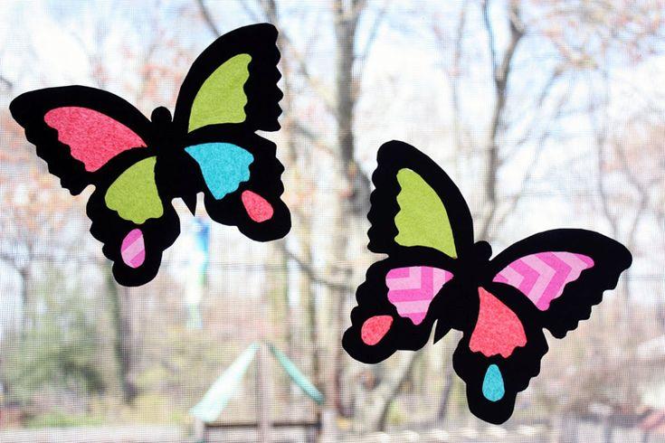 Basteln mit Seidenpapier zu Ostern und Frühling – Tolle Ideen für Kinder – D…
