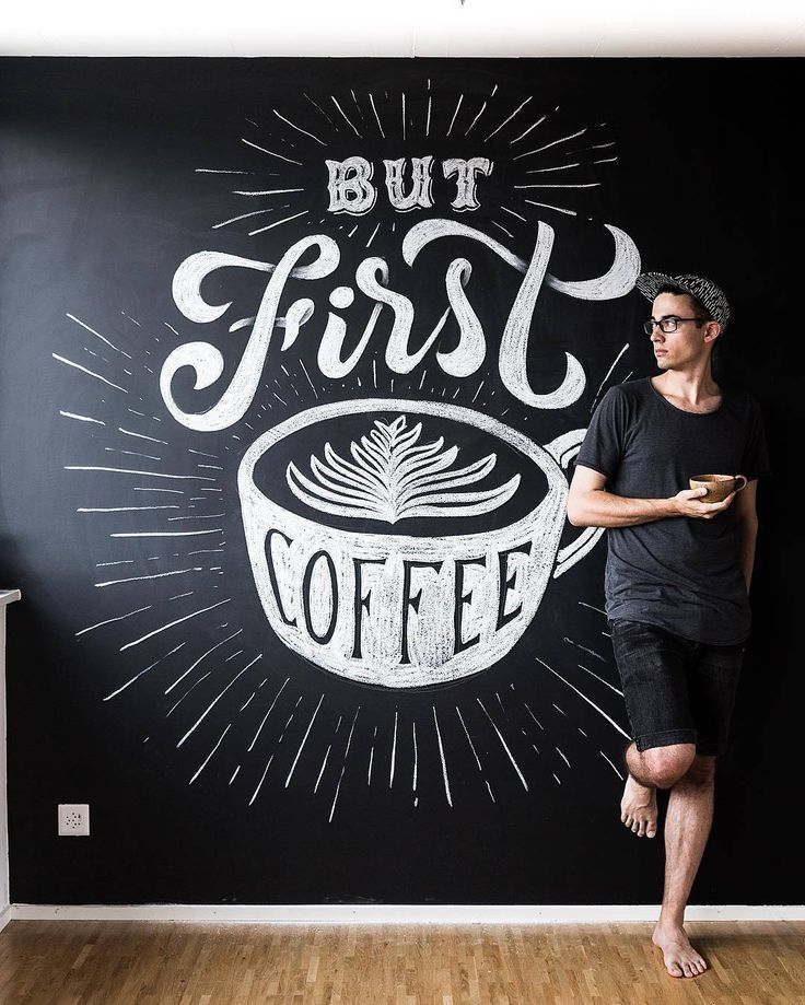 LETTERING... COFFEE - Or two. Type by @stefankunz   #typegang - typegang.com   typegang.com #typegang #typography