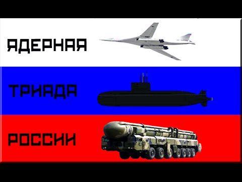 Ядерная триада России: стратегическая авиация, РВСН, ВМФ - ядерный щит. ...