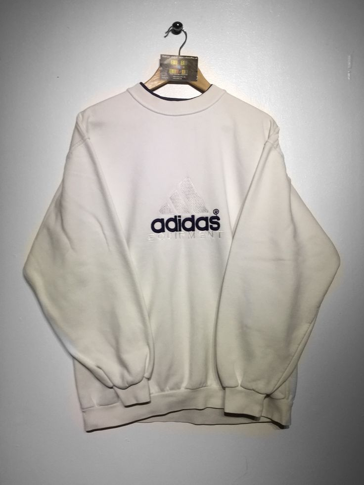 Adidas Equipment Sweatshirt X Large Fits Oversized