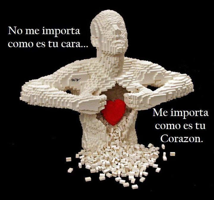 ni tu físico...me importa tu corazón...