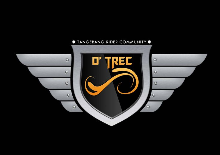 Logo D'Trec Tangerang Rider Community