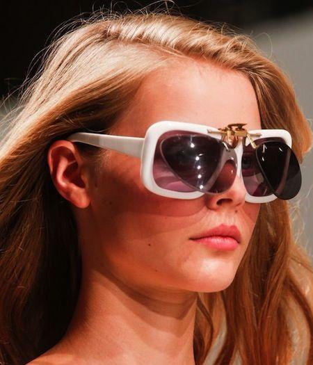 Clip-on sunglasses  Trend 2014