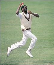 Michael Holding who played for the West Indies cricket team in seventies, was known as the fastest paste bowler in the world. Dangerous bouncers to the heads of players making him a deadly weapon for the West Indies cricket team.