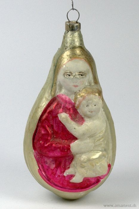 A very rare Madonna ornament