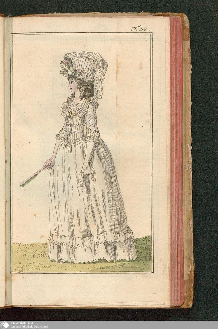 Journal des Luxus und der Moden, Tafel 34, December 1788.